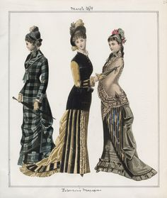 Casey Fashion Plates Detail | Los Angeles Public Library Peterson's Magazine Date: Saturday, March 1, 1879