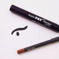 If you love the look of a dramatic liner, try this easy to use @nyxcosmetics Super Fat Eye Marker. It gives bold definition with a low price tag. And for day wear, match it with a neutral lipliner.   #beauty #beautytip #tiptuesday #eyeliner #nyxcosmetics #beautyaccount