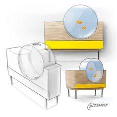 10 Tips on Designing a Freshwater Nature Aquarium Interior Design Sketches, Industrial Design Sketch, Sketch Design, Drawing Furniture, Cool Furniture, Furniture Design, Furniture Movers, Furniture Companies, Aquarium Design