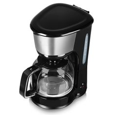 Tower 10 Cup Coffee Maker, 1.25 L - Black