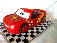 Lightning Mcqueen Cakes Designs Ideas, Lightning Mcqueen Cake Template
