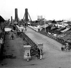 Puente de Colgante suspension bridge, Pasig River, Manila,…   Flickr Manila, Suspension Bridge, Philippines, River, Bridges, Pendants, Rivers