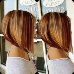 Don't you just love asymmetric bob haircuts???