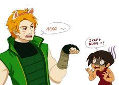 "Erraday - Ninjago Lloyd Cause you know... ""Nya"""