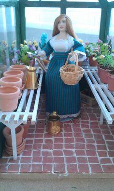 Isabel,la dueña del invernadero