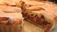 Rebarborovo- tvarohový koláč (fotorecept) - Recept