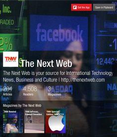The Next Web - Flipboard Magazines #tech #articles