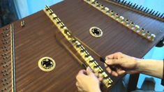 """Swallow Tail Jig"" on hammer dulcimer"