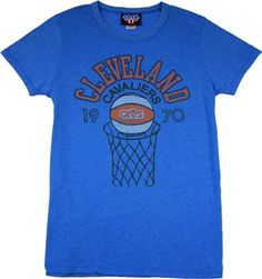 Women s Cleveland Cavaliers Shirt by Junk Food This officially licensed Women s  NBA shirt by Junk Food 571bf0f960