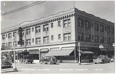 Antique Souvenir Postcard, Andrus Hotel, Dillon Montana Street Scene #1672