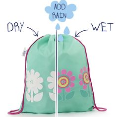 Colour changing drawstring bag for children Fun, colourful and practical! This…