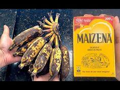 Tem BANANA VELHA EM CASA? Não Jogue Fora! MISTURE COM MAISENA E MATE SUA FOME - YouTube Mousse, 3 D, The Creator, Vegetables, Desserts, Youtube, Bananas, Polenta, Sweets