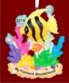 My Fish Tank Personalized Christmas Ornament