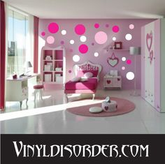 teen room, Pink Bedroom Design Ideas With Pink White Wardrobes Deign With White Ceramic Tile Floor Design With Small Round Rug With Single Bed And Bedroom Furniture Ideas With Pink Curtain For Bay Window Ideas: Astounding Bedroom Ideas for Small Room Pink Bedroom Design, Pink Bedroom For Girls, Girl Bedroom Designs, Pink Room, Little Girl Rooms, Girl Bedrooms, Bedroom Colors, Pink Design, Design Color