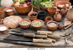 Crusoe learned how to mold clay into pots, then glazed them in the fire to waterproof them.