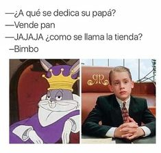★★★★★ Funny Memes in Spanish: When your father is important (very . Memes Humor, Bts Memes, Funny V, Hilarious, Kermit, Funny Images, Funny Pictures, Mexican Problems, Real Life