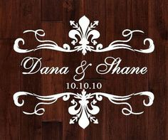 Monogram Dance Floor Decal Archives - Society Bride
