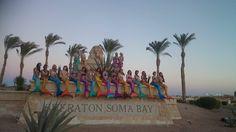So many beautiful mermaids!! — at Sheraton Hotel *****+ SomaBay Ägypt. -Magictail