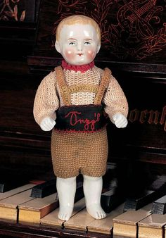 Theriault's Antique Doll Auctions-Frozen Charlotte type-circa 1885