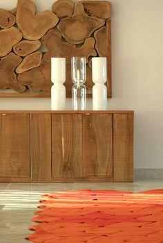 Wood Furniture // The seaside villa by alessandro isola & supriya mankad