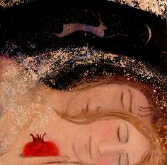 colourthysoul:  Catherine Hyde - Under a blanket of stars