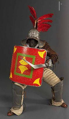 Reenactment: The gladiators in the Roman Empire
