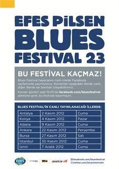 Efes Pilsen Blues Festival 23'ün Canlı Facebook Konser Programı