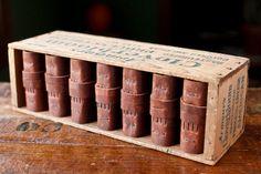 Handmade Leather Journal Box Set - The Cloverbloom Box Set - OOAK - Matching set of 7 Journals. via Etsy.