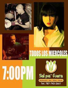 Todos los Miércoles!!!!  Banda Mala Novia: Acústico @ Sal pa' Fuera Restaurant #sondeaquipr #miercoles #bandamalanovia #salpafuerarestaurant #caguas