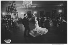 Stunning first dance within Lovett Hall Ballroom