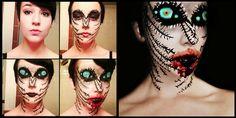 les maquillages effrayants de stephanie fernandez 6   Les maquillages effrayants de Stephanie Fernandez   Stephanie Fernandez photo maquilla...