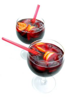 Non-alcoholic sangria. I'll take what I can get right now! More