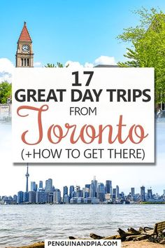 Looking for great day trips from Toronto, ON, Canada? In this guide we share some of our top day trips ideas! #ontario #canadatravel