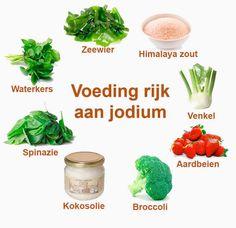 Voeding rijk aan jodium