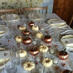 Thanksgiving Table Setting Ideas From Instagram | POPSUGAR Home
