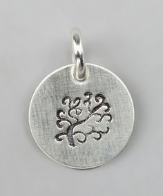 Take a look at this Sterling Silver Expressions Tree of Life Charm on zulily today!