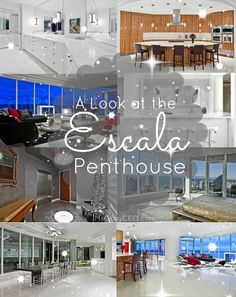 The Escala Seattle Penthouse: what Christian Grey calls home. | Fifty Shades of Grey | In Theaters Valentine's Day