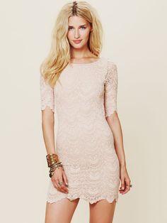 Nightcap Spanish Lace Dress