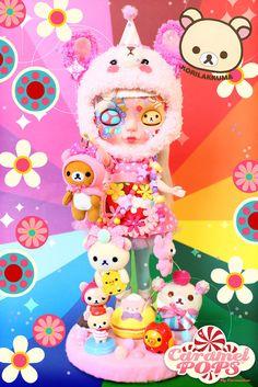 Cute Kawaii Drawings, Pop Dolls, Twin Sisters, Rainbow Baby, Weird And Wonderful, Custom Dolls, Blythe Dolls, Doll Toys, Monster High