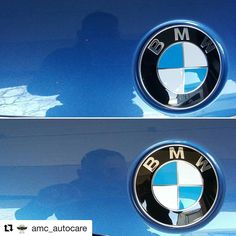 Great #chipex before and after pictures @amc_autocare  Amc autocarespecialist is stone chip repair. #bmw #m3 #chipex #100% #colourmatch #enhanceyourappearance #amcautocare #provalets #approved #detailersofinstagram