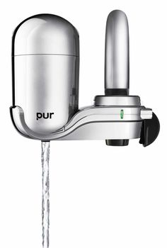 PUR 3-Stage Advanced Faucet Water Filter Bathroom Faucets, Bathroom Hooks, Water Filter, Drinking Water, Filters, Coffee Maker, Krystal, Chrome, Crisp