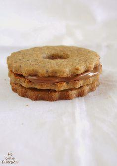 Galletas de trigo sarraceno con pistachos y arándanos {Sin Gluten}