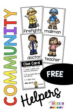 FREEBIE community helpers printables for social studies science writing Community Helpers Kindergarten, Community Helpers Activities, Kindergarten Themes, Preschool Activities, Space Activities, All About Me Activities For Toddlers, Indoor Activities, Summer Activities, Preschool Social Studies
