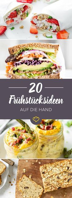 Auf die Hand, in den Mund! 20 mal Frühstück to go Already late again? No reason to skip breakfast. You can easily eat these 15 ideas to go on the go. Duchess Potatoes - Thanksgiving Recipes, Decor and Crafts Sweet stick bread - Thermomix Healthy Smoothies, Healthy Drinks, Healthy Snacks, Food To Go, Love Food, Essen To Go, Kids Meals, Easy Meals, Meals To Go