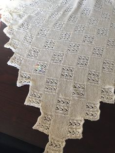 Future gift baby blanket project by Carolyn V