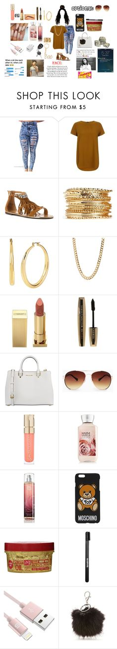 """Untitled #211"" by beautyonfleek ❤ liked on Polyvore featuring Report, Kenneth Cole, Lipstick Queen, L'Oréal Paris, MICHAEL Michael Kors, MANGO, Smith & Cult, Moschino, Marvis and New Directions"