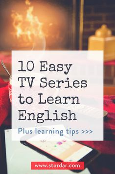 10 easy TV series to learn English. It's a great way to improve your listening and vocabulary in English. Use websites like ororo.tv and Netflix to watch the TV series in English with English subtitles Games To Learn English, Improve English Speaking, Learning English Online, Improve Your English, Learn English Words, English Language Learning, Education English, Teaching English, English Learning Course