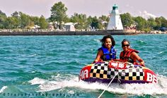Tubing twins. Photo by Tracy B, Port Dover, ON.
