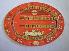Vintage Game Board, Spelling. $45.00, via Etsy.