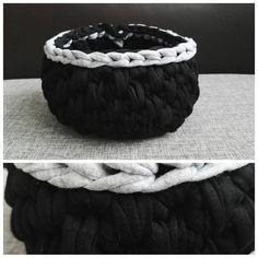 ❤#crochet #crocheting #crochetbasket #koszyk #szydełko #szydełkowanie #craftart #craft #polishcraft #handmadeinpoland #handmadedecor #kottoon #tshirtyarn #zpagetti #yarnporn #recznarobota #rekodzieło #yarn #i_love_rekodzielo #karolahandmade #progress